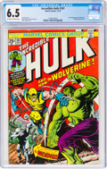 Bronze Age (1970-1979):Superhero, The Incredible Hulk #181 (Marvel, 1974) CGC FN+ 6.5 Off-white to white pages....
