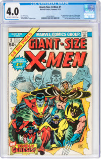 Giant-Size X-Men #1 (Marvel, 1975) CGC VG 4.0 Off-white to white pages