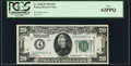 Small Size:Federal Reserve Notes, Low Serial 25 Fr. 2050-D $20 1928 Federal Reserve Note. PCGS New 62PPQ.. ...