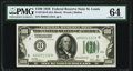 Fr. 2150-H $100 1928 Federal Reserve Note. PMG Choice Uncirculated 64