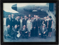 Gemini Goodwill Tour: Color Photo of the Armstrongs, the Gordons, and the Rest of the Entourage, Directly From The