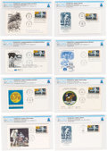 """Explorers:Space Exploration, Apollo 11 """"First Man On The Moon"""" Stamp: Collection of Eight Different First Day Covers Directly From The Armstrong Family..."""