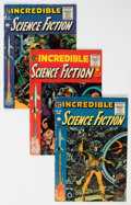 Golden Age (1938-1955):Science Fiction, Incredible Science Fiction #30-33 Complete Series Group (EC, 1955-56) Condition: Average VG.... (Total: 4 Comic Books)