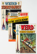 Golden Age (1938-1955):Science Fiction, Weird Science-Fantasy Group of 4 (EC, 1954-55) Condition: Average VG+.... (Total: 4 Comic Books)