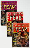 Golden Age (1938-1955):Horror, Haunt of Fear #15, 20, and 24 Group (EC, 1952-54) Condition: Average VG.... (Total: 3 Comic Books)