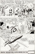 Original Comic Art:Panel Pages, Don Heck The Avengers #34 Story Page 14 Original Art (Marvel, 1966)....