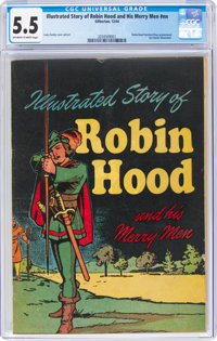 Classics Giveaways Robin Hood and His Merry Men (Gilberton, 1944) CGC FN- 5.5 Off-white to white pages