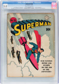 Golden Age (1938-1955):Superhero, Superman #18 (DC, 1942) CGC VG/FN 5.0 Cream to off-white pages....