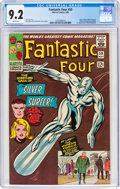 Silver Age (1956-1969):Superhero, Fantastic Four #50 (Marvel, 1966) CGC NM- 9.2 White pages....