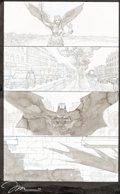 Original Comic Art:Panel Pages, Giuseppe Camuncoli and Jim Lee Batman Europa #1 Story Page 20 Original Art (DC Comics, 2016)....