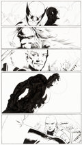 Original Comic Art:Panel Pages, John Cassaday Astonishing X-Men #12 Story Page 21 Original Art (Marvel, 2005). ...