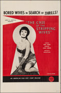 """Movie Posters:Adult, The Case of the Stripping Wives (AFDC, 1966). Folded, Very Fine-. One Sheet (27"""" X 41""""). Adult.. ..."""
