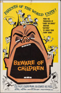 "Movie Posters:Comedy, Beware of Children & Other Lot (American International, 1960). Folded, Fine/Very Fine. One Sheets (2) (27"" X 41""). Comedy.. ... (Total: 2 Items)"