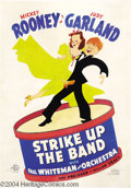 Movie Posters:Musical, Strike Up the Band (MGM, 1940)....