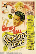 Movie Posters:Musical, Seven Days' Leave (RKO, 1942)....