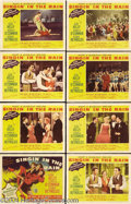 Movie Posters:Musical, Singin' in the Rain (MGM, 1952).... (8 pieces)