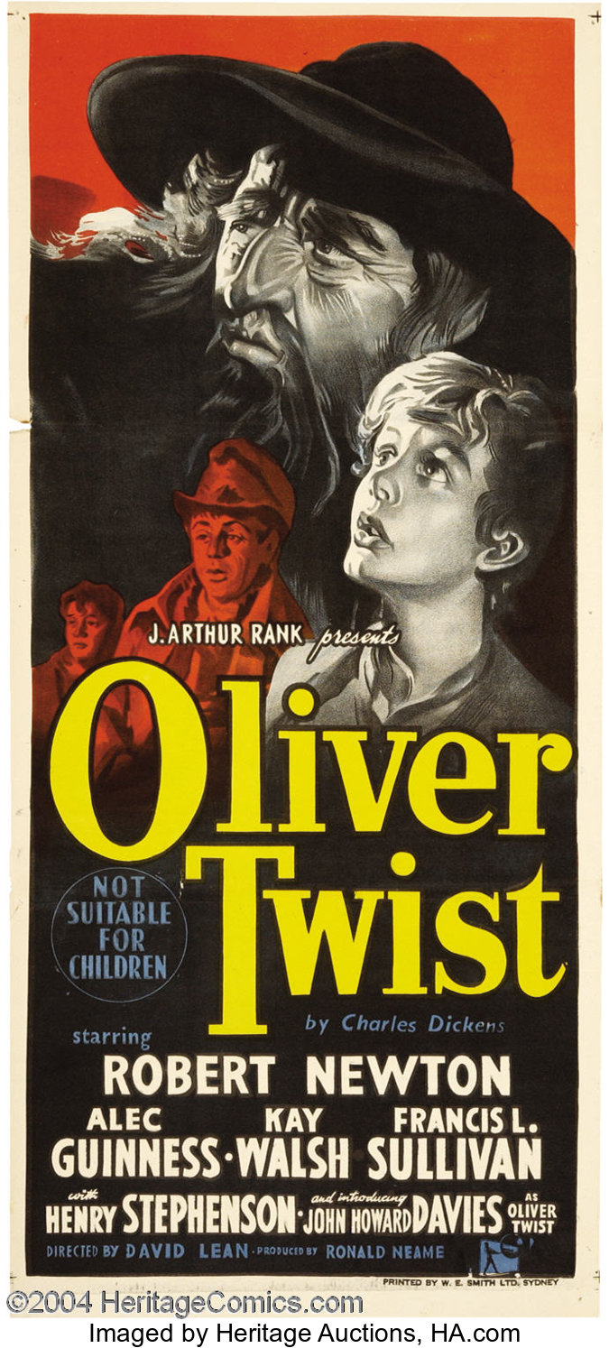 Oliver Twist (Rank, 1948).... Movie Posters Drama | Lot #19020 | Heritage  Auctions