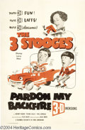 Movie Posters:Comedy, Pardon My Backfire (Columbia, 1953)....