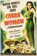 Movie Posters:Adventure, Cobra Woman (Universal, 1944)....