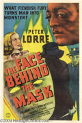 Movie Posters:Film Noir, The Face Behind The Mask (Columbia, 1941)....