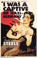 Movie Posters:War, I Was a Captive of Nazi Germany (Malvina Pictures Corp, 1936)....