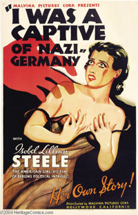 I Was a Captive of Nazi Germany (Malvina Pictures Corp, 1936)