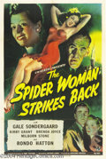 Movie Posters:Horror, The Spider Woman Strikes Back (Universal, 1946)....