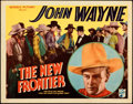 "Movie Posters:Western, The New Frontier (Republic, 1935). Very Fine-. Title Lobby Card (11"" X 14"").. ..."