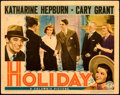 "Movie Posters:Comedy, Holiday (Columbia, 1938). Fine/Very Fine. Lobby Card (11"" X 14"").. ..."