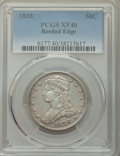 Reeded Edge Half Dollars, 1838 50C XF40 PCGS. PCGS Population: (202/1174). NGC Census: (84/984). XF40. Mintage 3,546,000. ...