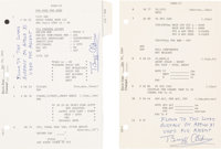 "Apollo 11 Lunar Module Flown ""LM G and N Dictionary"" Pages PGNS-15 through PGNS-18 Originally from the Persona..."