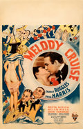 "Movie Posters:Musical, Melody Cruise (RKO, 1933). Fine/Very Fine on Cardstock. Window Card (14"" X 22"").. ..."