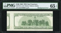 Error Notes:Miscellaneous Errors, Fr. 2175-L $100 1996 Federal Reserve Note. PMG Gem Uncirculated 65 EPQ.. ...