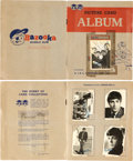 Music Memorabilia:Memorabilia, The Beatles A&BC 1st Series Chewing Gum Cards in Picture Card Album (UK,1964). . ...
