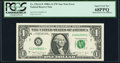 Error Notes:Mismatched Serial Numbers, Fr. 1916-G* $1 1988A Federal Reserve Note. PCGS Superb Gem New 68PPQ.. ...