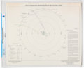 "Explorers:Space Exploration, Apollo 13 ""Translunar/ Transearth Trajectory Plotting Chart"" Directly From The Armstrong Family Collection™, CAG Certified. ..."