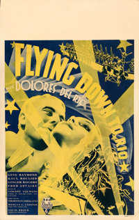 "Flying Down to Rio (RKO, 1933). Fine/Very Fine on Cardstock. Window Card (14"" X 22"")"