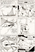 Original Comic Art:Panel Pages, Steve Ditko Tales of Suspense #37 Story Page 12 Original Art (Marvel, 1963)....
