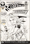 Original Comic Art:Covers, Curt Swan and Murphy Anderson Superman #244 Cover Original Art (DC, 1971)....