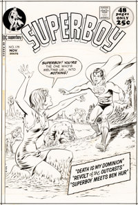 Curt Swan and Murphy Anderson Superboy #179 Cover Original Art (DC, 1971)