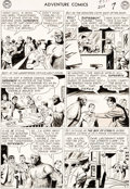 Original Comic Art:Panel Pages, George Papp Adventure Comics #274 Superboy Story Page 7 Original Art (DC Comics, 1960)....