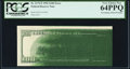 Error Notes:Ink Smears, Fr. 2175-F $100 1996 Federal Reserve Note. PCGS Very Choice New 64PPQ.. ...
