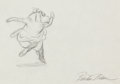 "Animation Art:Production Drawing, Fantasia ""Dance of the Hours"" Hyacin..."
