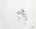 Animation Art:Production Drawing, Lady and the Tramp Tony Animation Dr...
