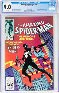 The Amazing Spider-Man #252 (Marvel, 1984) CGC VF/NM 9.0 White pages