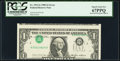Error Notes:Inverted Third Printings, Fr. 1913-G $1 1985 Federal Reserve Note. PCGS Superb Gem New 67PPQ.. ...