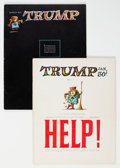 Magazines:Humor, Trump #1 and 2 Group (HMH Publishing, 1957) Condition: Average FN-.... (Total: 2 Comic Books)