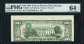 Fr. 2080-G $20 1993 Federal Reserve Note. PMG Choice Uncirculated 64 EPQ