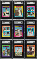 Baseball Cards:Sets, 1975 Topps Mini Baseball High Grade Complete Set (660). ...