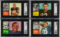 Football Cards:Sets, 1962 Topps Football Complete Set (176). ...